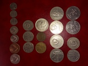 Советские монеты и купюры