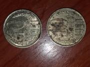 монеты 10 копеек 1991с буквай л и 10 к 1990 г