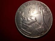 монета 1996 года Жамбыл Жабаев 20 тенге