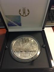 коллекционные серебрянные монеты наминалом 5000 тенге